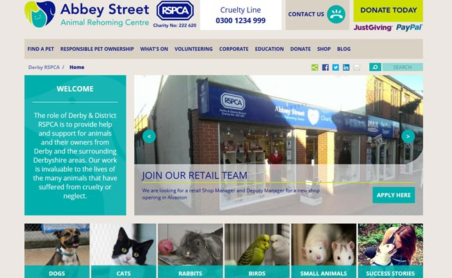 RSPCA Rehoming Centre (Derby)