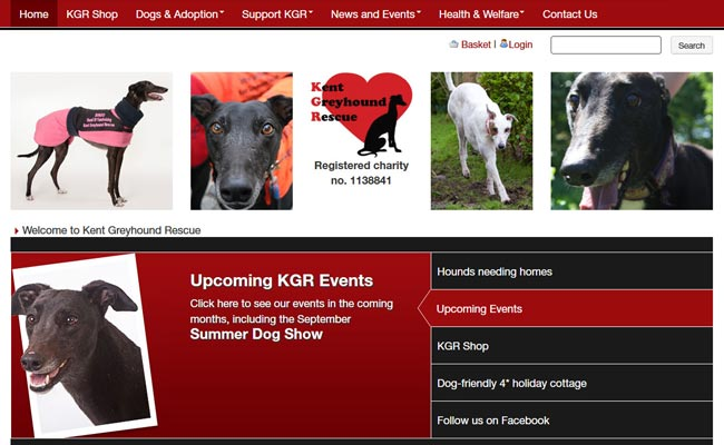 Kent Greyhound Rescue