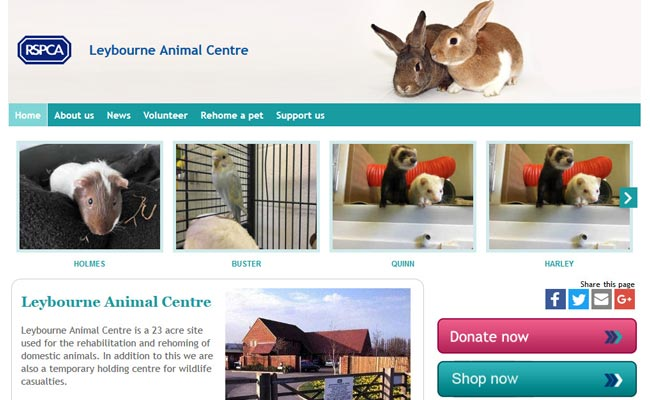RSPCA Leybourne Animal Centre