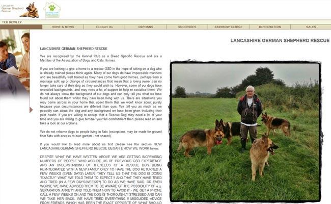 Lancashire German Shepherd Rescue