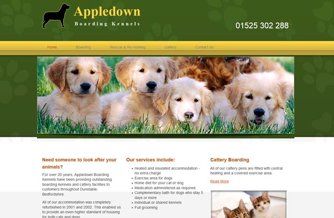 Appledown Kennels and Cattery