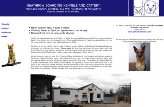 Heathrow Kennels and Cattery