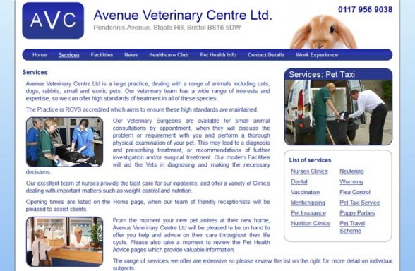 Avenue Veterinary Centre Ltd