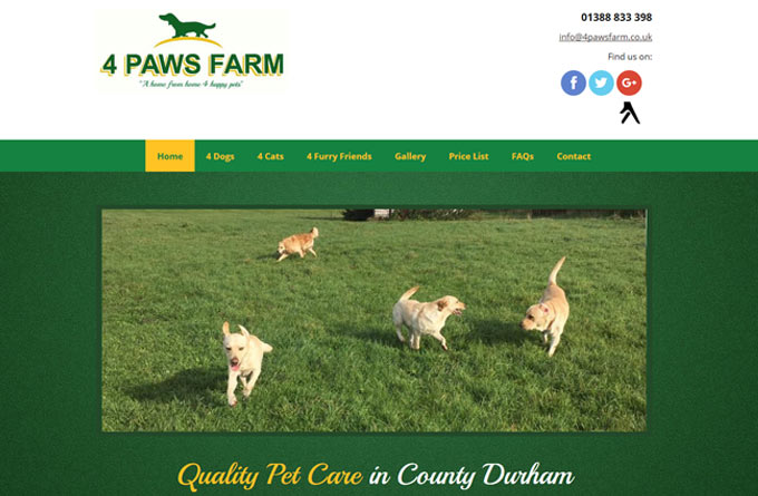 4 Paws Farm Kennels