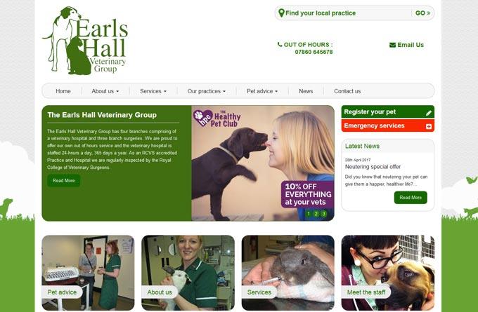 Earls Hall Veterinary Group