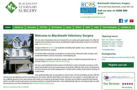Blackheath Veterinary Surgery