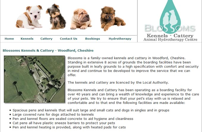 Blossoms Kennels and Cattery