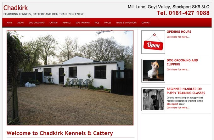 Chadkirk Kennels and Cattery