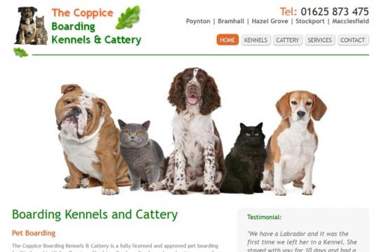 Coppice Cattery and Kennels