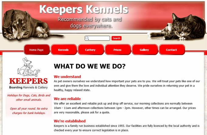 Keepers Cattery and Kennels