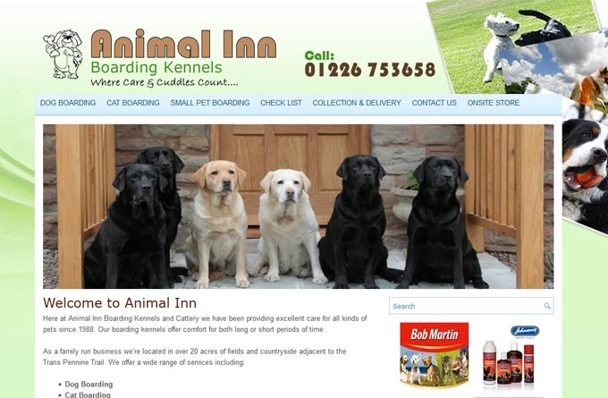 Animal Inn Boarding Kennels